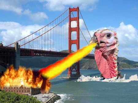 Turkzilla Attacks!