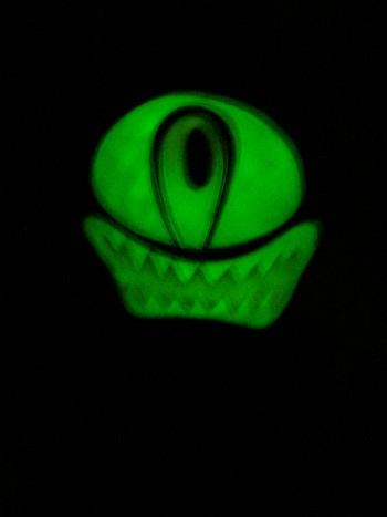 Glows... +1