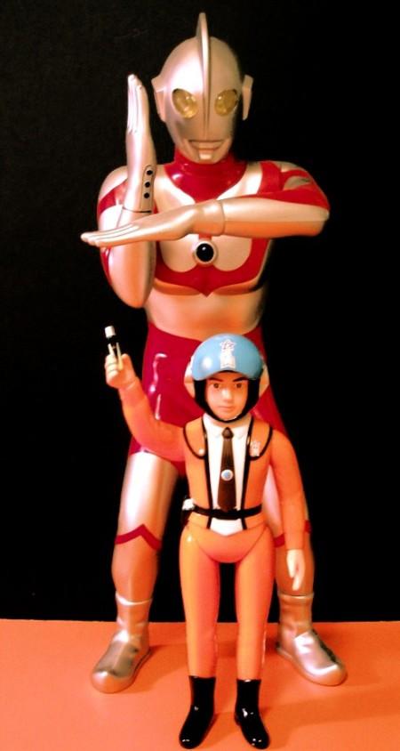 Ultraman & Hyata