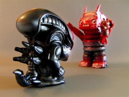 Alien vs Smogun
