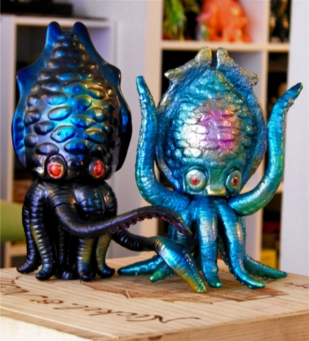 Ahh...get your dirty tentacles off me!