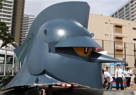 T-28's giant head!