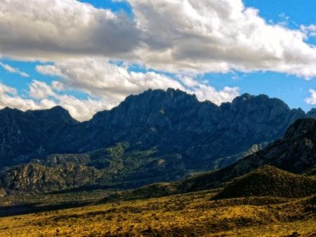 The Organ Mtn peaks