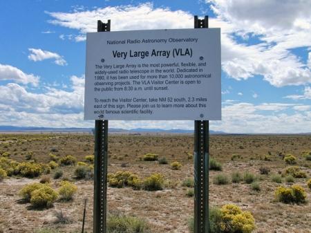 VLA Sign